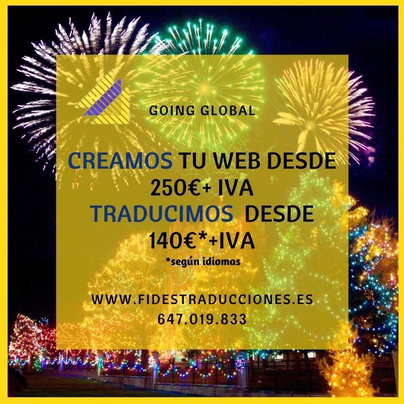 Creamos tu web Traducimos tu web en Fides